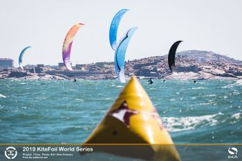 Battle for honours tightens in swelling women's ranks at KiteFoil World Series in China